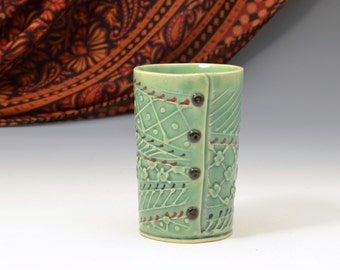 Handmade cup Tumbler  READY TO SHIP