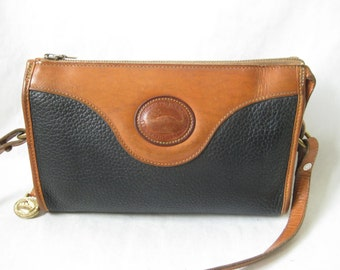 Vintage 80's DOONEY and BOURKE Cross Body Purse