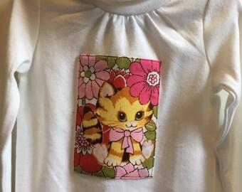 Retro Kitty Long Sleeve