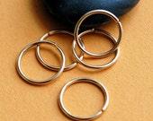 Gold Filled Hoop Earrings Cartilage Tragus Daith Gold Sleeper Hoops Cartilage Earrings/Helix Hoops/Tiny Hoop Earrings/Multiple Piercing