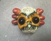 Ceramic Head, clown, wall hanging