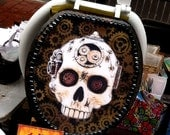 MEGA SALE!   Steampunk Skull Seat - 40% off!