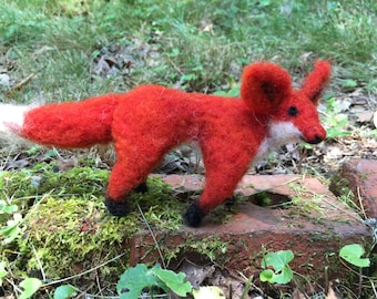 Wool Felt Red Fox