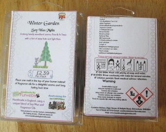 Winter Garden Scented Soy Wax Melts Pack