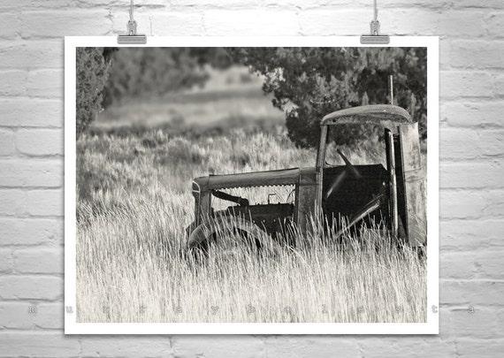Farm Picture, Rustic Art, Vintage Truck, Farm Truck, Old Trucks, Back Roads, Ranch Art, Rural America, 5 x 7, 8 x 10, 11 x 14, 16 x 20