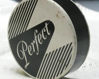 Vintage Perfect Typewriter Ribbon Tin
