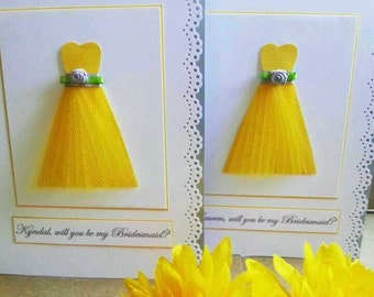Will you be my Bridesmaid,Will you be my Maid of Honor,Will you be my Matron of Honor,Thank you for being my bridesmaid,Wedding Party Cards