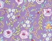 Meadow Primrose Purple - PWDF242 Dena Designs Fishburn 100% Quilters Cotton