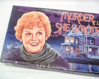 Murder She Wrote - Vintage board game - 1985 - complete - very good condition