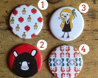 Various Designs Pocket Mirror