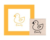 Personalized Rubber Duck Rubber Stamp