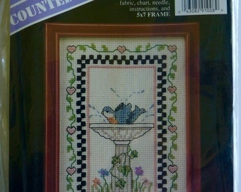 Counted Cross Stitch, Banar Designs, includes frame