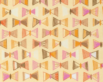 SALE - Erin McMorris Fabric by the Yard - Highline - Flutter in Yellow - Quilter's Cotton