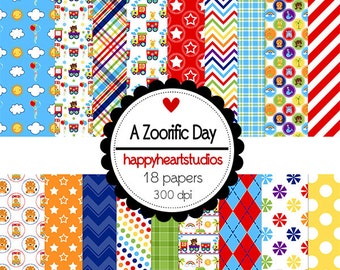 Digital Scrapbook  AZoorificDay-INSTANT DOWNLOAD