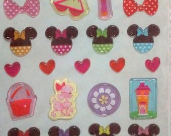 Disney stickers Minnie mouse