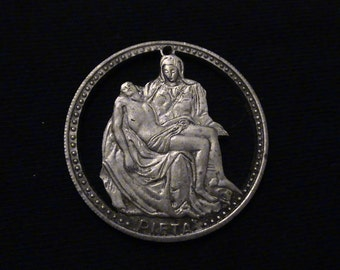 Vatican City Medallion - Michelangelo's The Pieta - One of a Kind