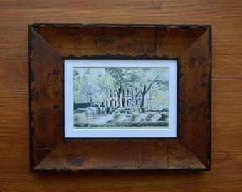 Troup Square - Mini Savannah Watercolor Print