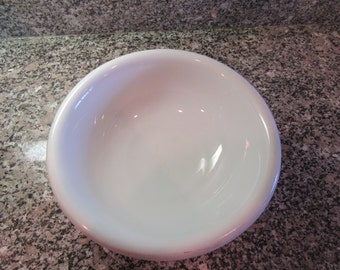 Beautiful T R Boote (England) large white ironstone wash basin/bowl- solid, nice, functional, chip on rim