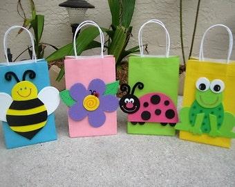 Garden Party Favor Bags