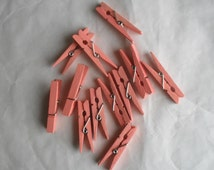 Small Clothes Pins 2 inches for Crafting Banners and More