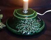 Green (Medium) Ceramic Christmas Tree Base