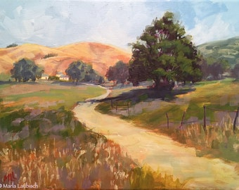 Napa Valley painting