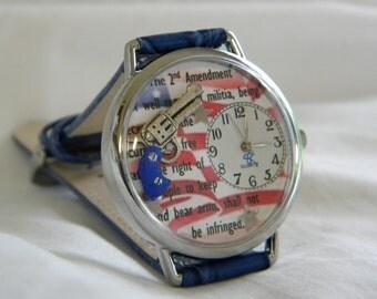 2nd Amendment Watch with gun