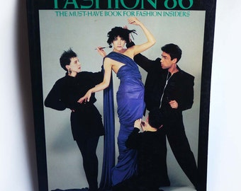 Fashion 86: The Must-Have Book for Fashion Insiders, 1980s UK English British Fashion