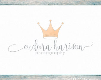 Crown Logo, Tiara Logo, Photography Logo, Princess Logo, Premade Logo, Custom Logo