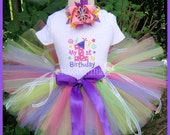 1yr, Ready to Ship, My 1st Birthday,  Party Outfit, Theme Party, Tutu Set,Photo Shoot