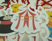 Circus Gift Tags