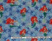 Disney Ariel Fabric by the yard