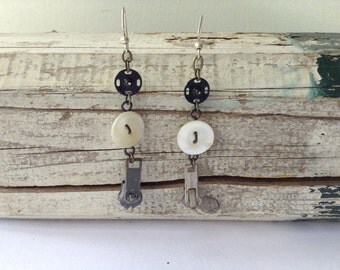 Tiny Sewing Items Earrings