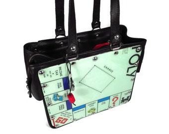Game Board Recycled Handbag