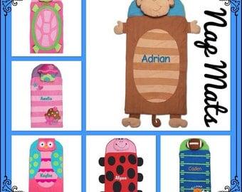 Stephen Joseph Nap Mat  / personalized toddler blanket  / preschool napmat  / toddler napmat / nursery school NapMat