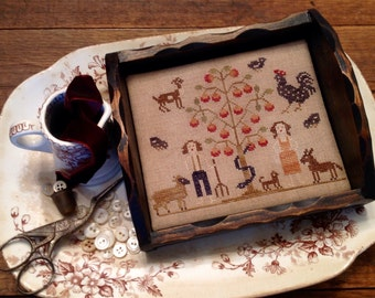 Adam & Eve On the Farm Sewing Tray *KIT*