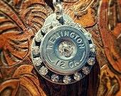 Mildred Bullet Jewelry Bullet Necklace Bullet Clip Bullet Bling 12 Gauge Shotgun Shell Interchangeable Necklace Clip