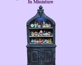 TUTORIAL ~ Making Realistic Miniature Potion Bottles, Jars and Pantry Items -  With BONUS -PDF