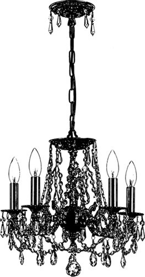 antique chandelier lighting png clip art Digital graphics Image Download house hold items collage sheet