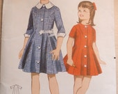 1960s Butterick 3380 girls dress