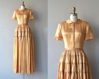 Debutante of Chatfield dress | vintage 1940s dress | 40s party dress