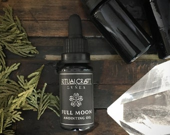 Ritualcravt/LVNEA Full Moon Anointing Oil. Limited Edition. Botanical Perfume.