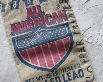 Vintage Lead Shot Bag