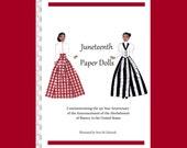 Juneteenth Paper Dolls