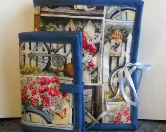 Home Town Sewing Caddy, Needle Book, Hand Sewing Organizers