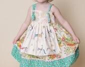 Girls Elise Apron Knot Dress