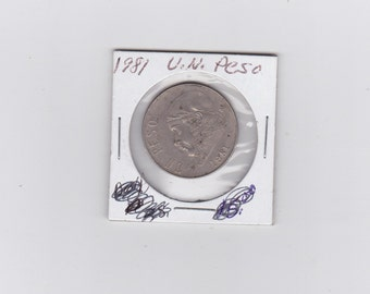 1984 U.N.  Peso
