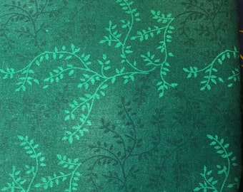 """Wideback fabric, quilt backing, 3 yards 108"""" x 108"""" cotton green"""