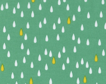 L's Modern Basic Green Lecien Japan by the Half Yard Japanese fabric