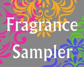 Fragrance Sampler -   Pick Any 2 - Concentrated Perfume Samples - 1ml each - Travel Size - Stocking Stuffer Idea
